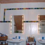 Ich fertige auch Bordüren aus meiner Keramik die z.B. im Badezimmer eingefügt werden können