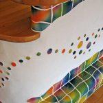 Mauerwerk, Holz und handgeschlagene Keramik als harmonische Komposition